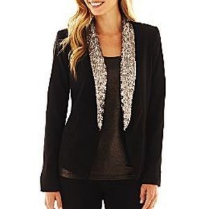 Sequins Black blazer